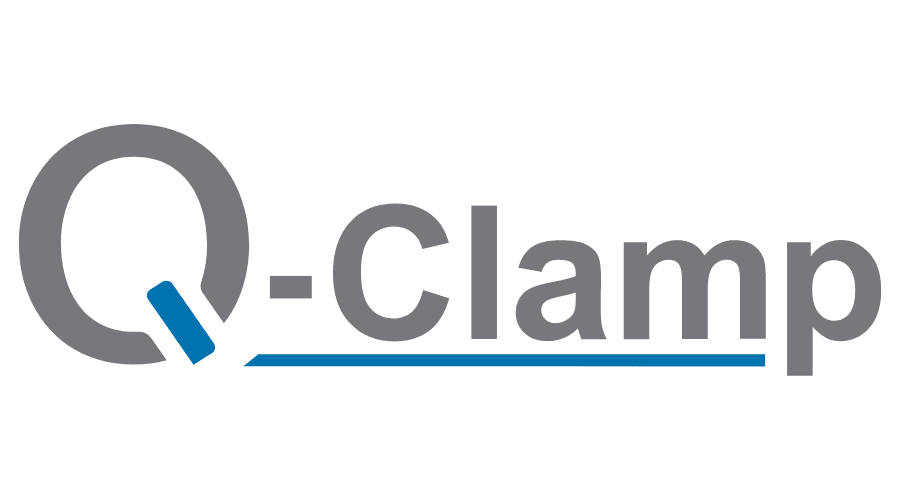 Q-Clamp Logo Vector