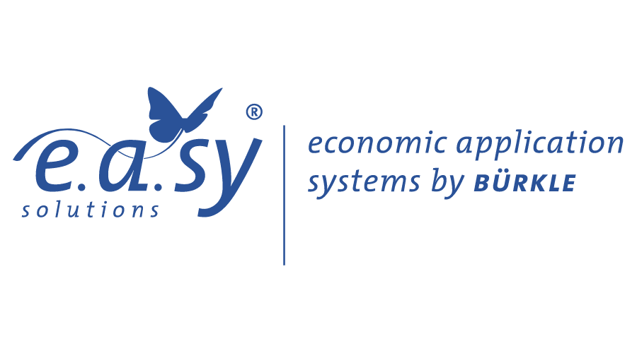 e.a.sy solutions – economic application systems by Bürkle Logo Vector