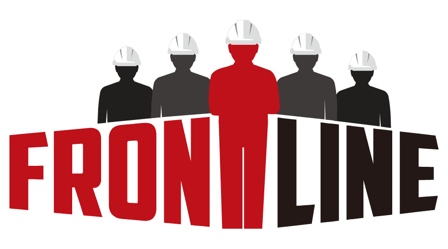 Frontline Utility Safety Leadership Training Logo Vector