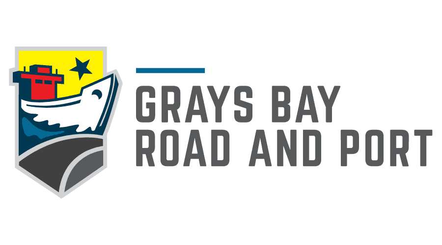 Grays Bay Road and Port Logo Vector