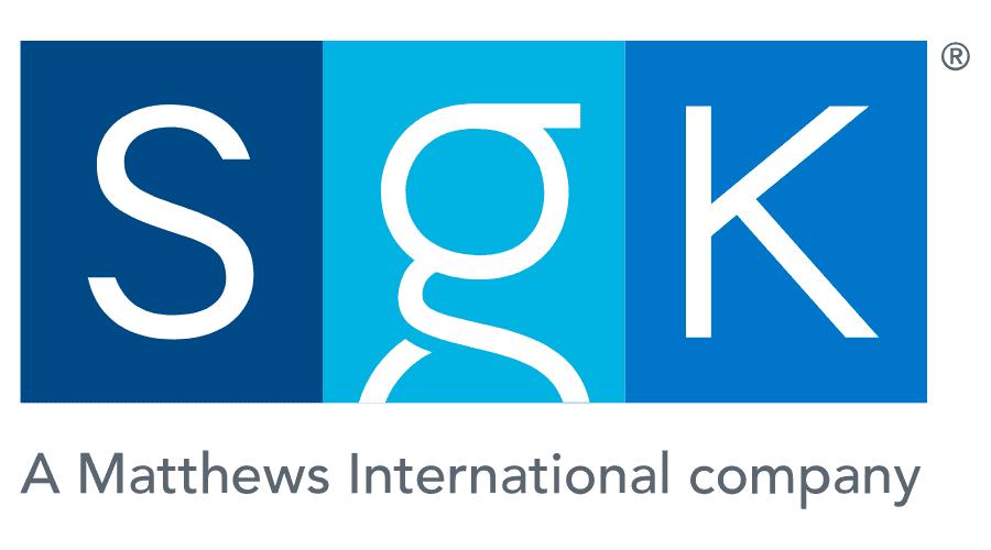 SGK, A Matthews International company Logo Vector