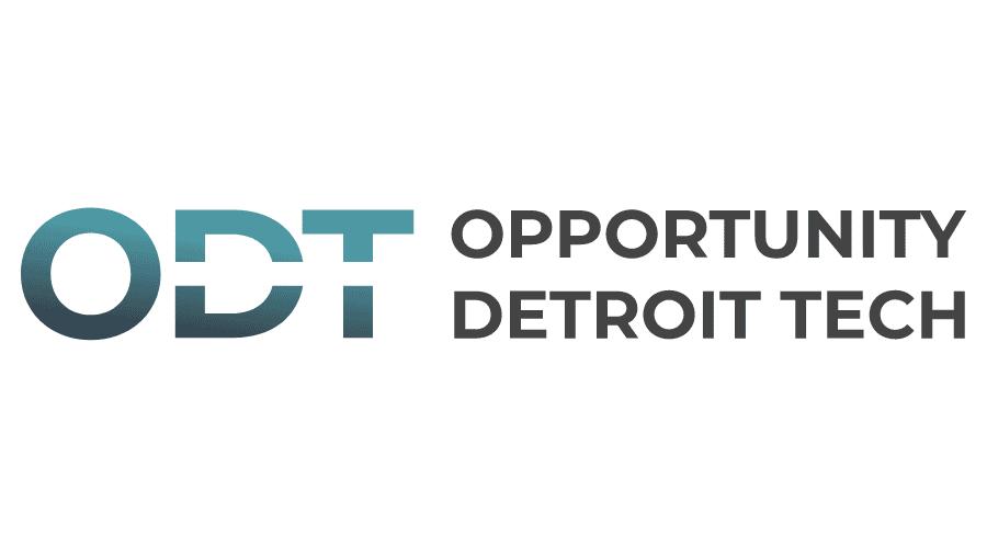 Opportunity Detroit Tech (ODT) Logo Vector