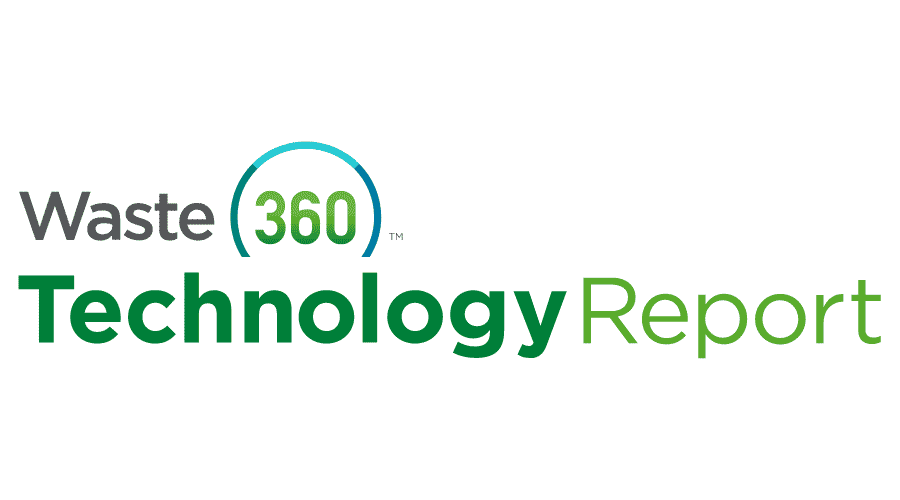 Waste360 Technology Report Logo Vector