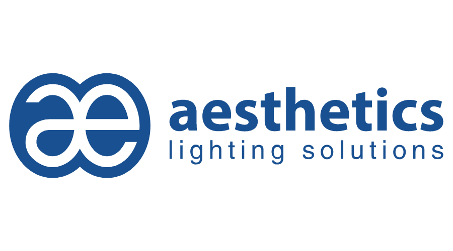 Aesthetics Lighting Solutions Logo Vector