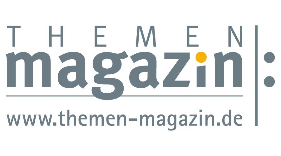 Themen Magazin Logo Vector