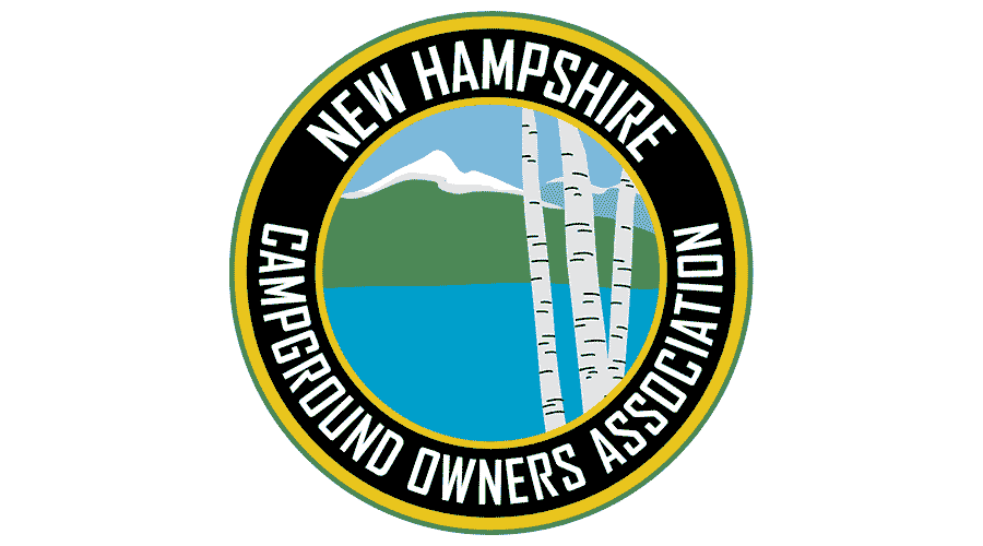 New Hampshire Campground Owners' Association Logo Vector