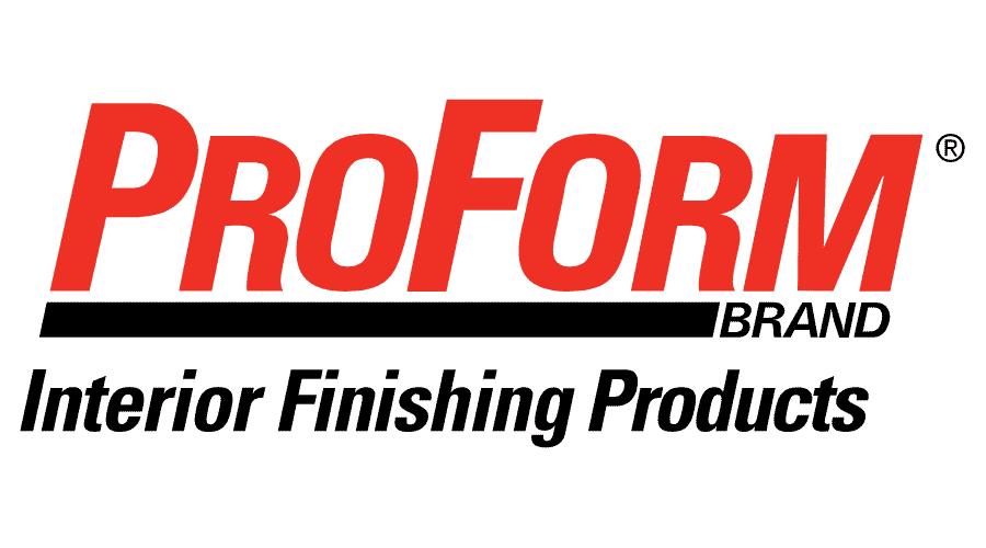 ProForm Brand Interior Finishing Products Logo Vector
