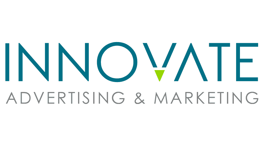 INNOVATE Advertising and Marketing Logo Vector