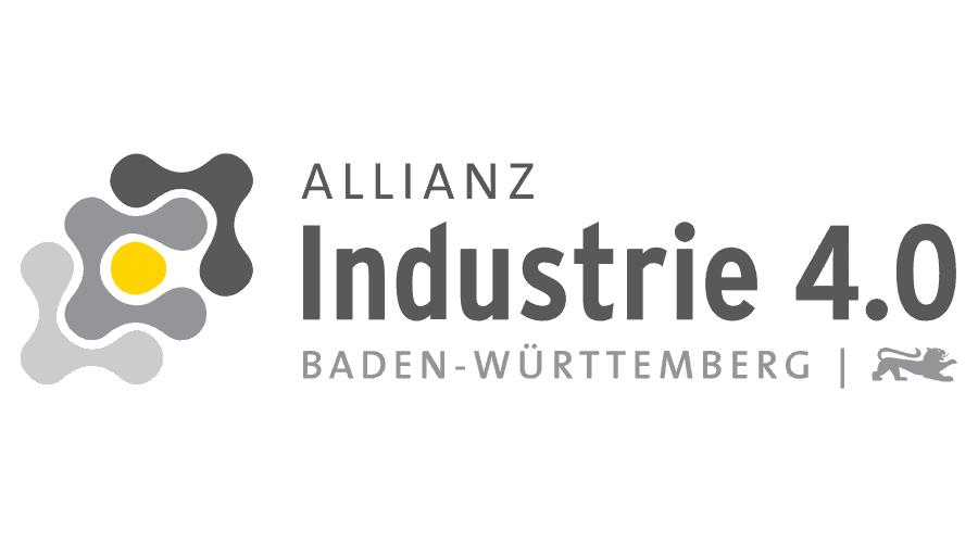 Allianz Industrie 4.0 Baden-Württemberg Logo Vector
