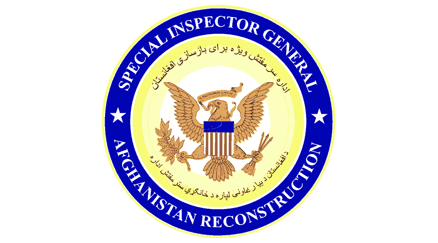 Special Inspector General for Afghanistan Reconstruction (SIGAR) Logo Vector
