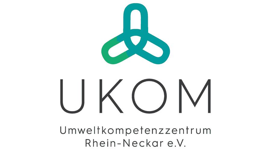 Umweltkompetenzzentrum Rhein-Neckar e.V. (UKOM) Logo Vector