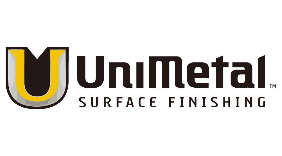 Unimetal Surface Finishing Logo Vector