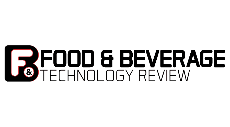 Food and Beverage Tech Review Logo Vector