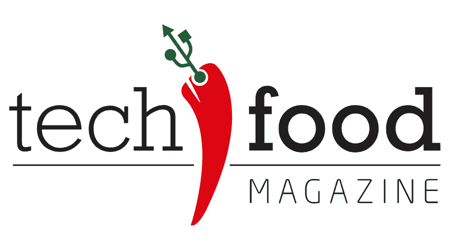 TechFood Magazine Logo Vector