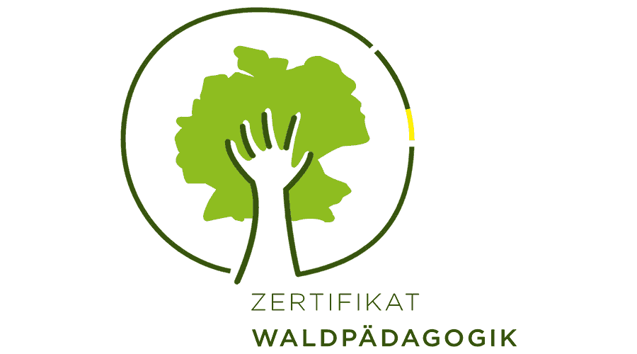 Zertifikat Waldpädagogik Logo Vector
