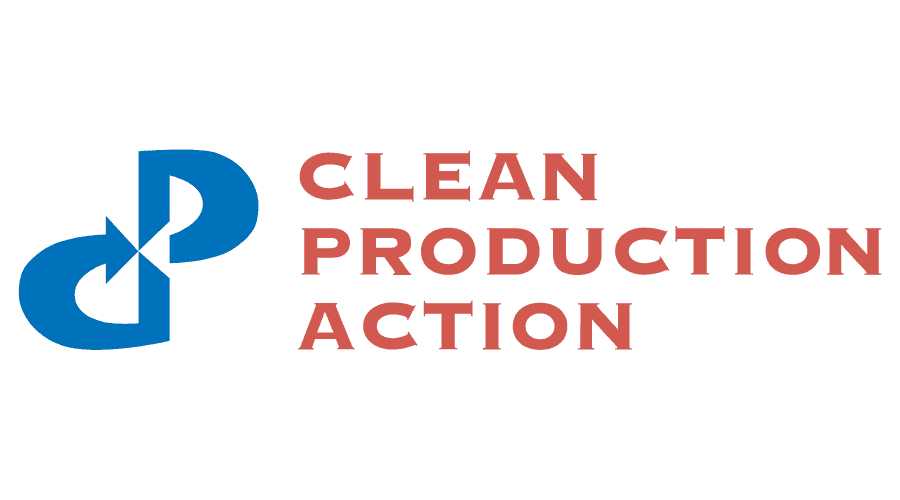 Clean Production Action Logo Vector