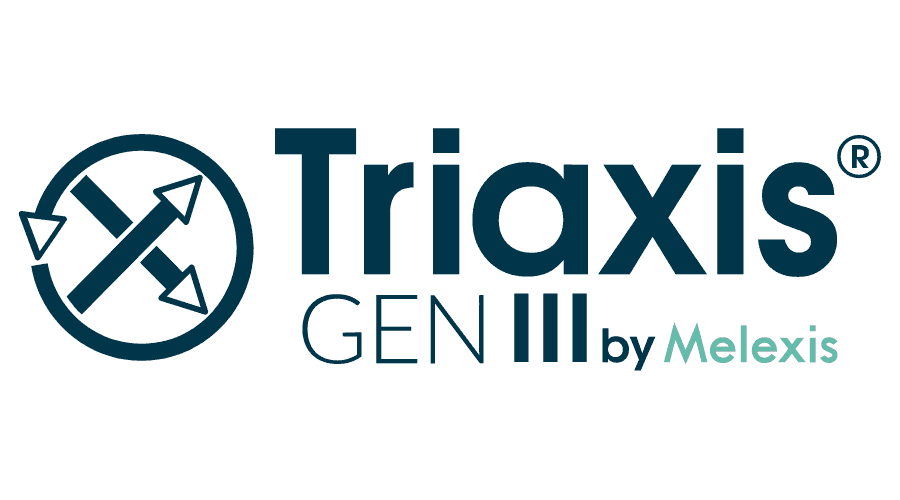 Triaxis GEN III by Melexis Logo Vector