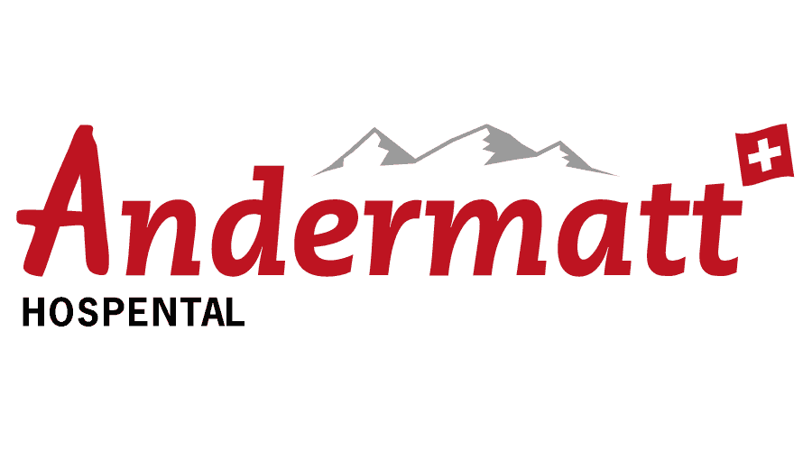 Andermatt Hospental Logo Vector