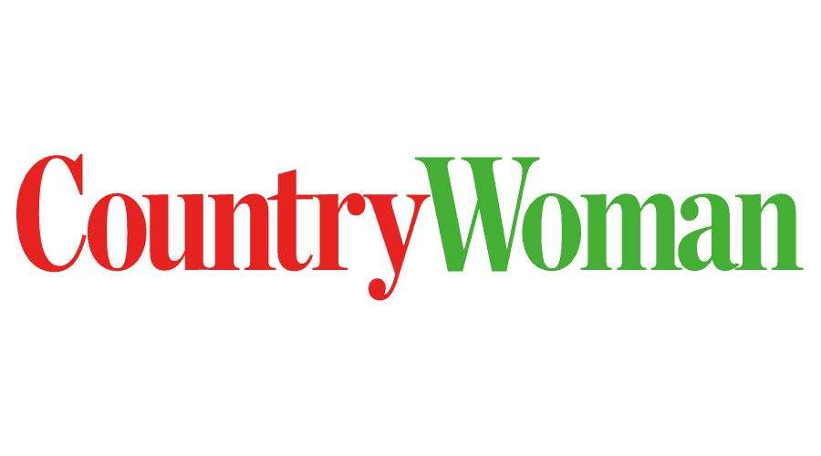 Country Woman Magazine Logo Vector