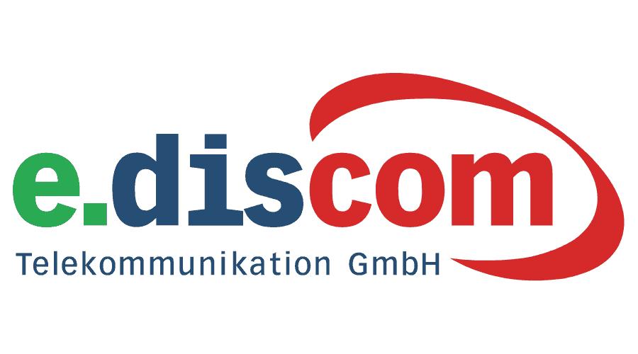 e.discom Telekommunikation GmbH Logo Vector