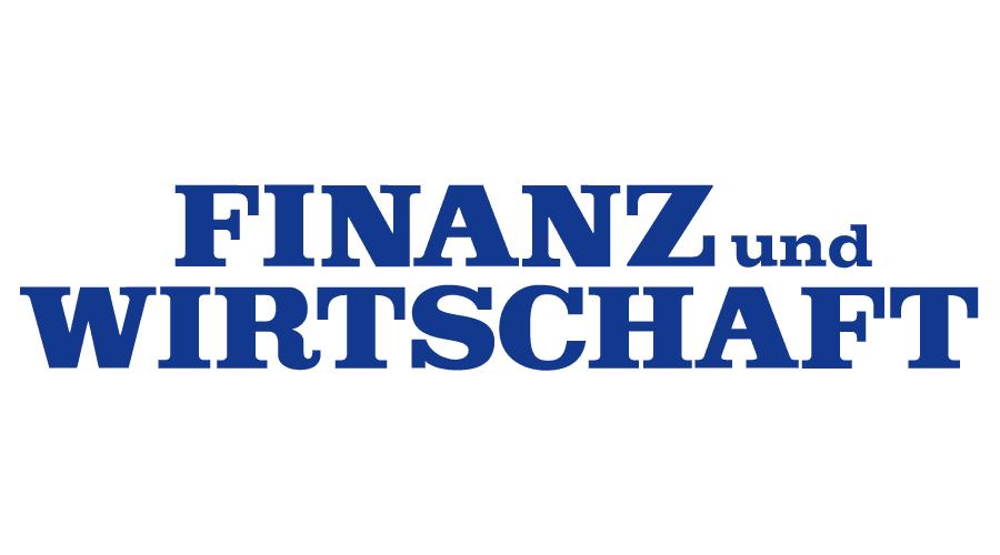 Finanz und Wirtschaft Logo Vector