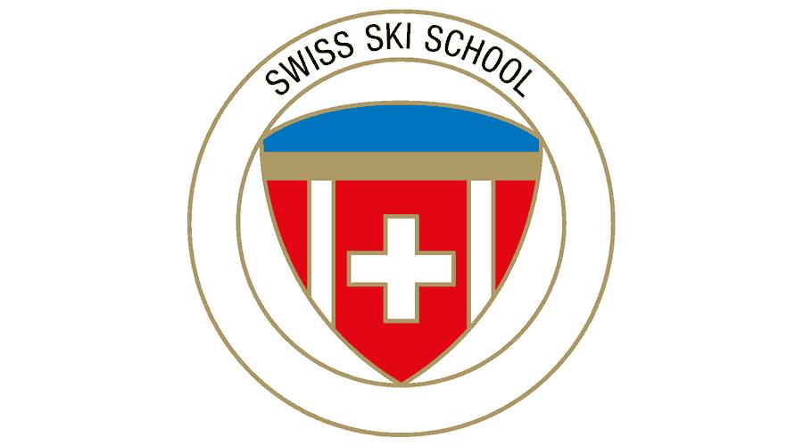 Swiss Ski School Logo Vector