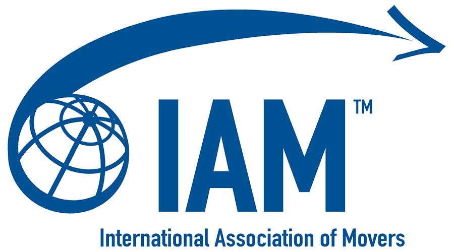 International Association of Movers (IAM) Logo Vector