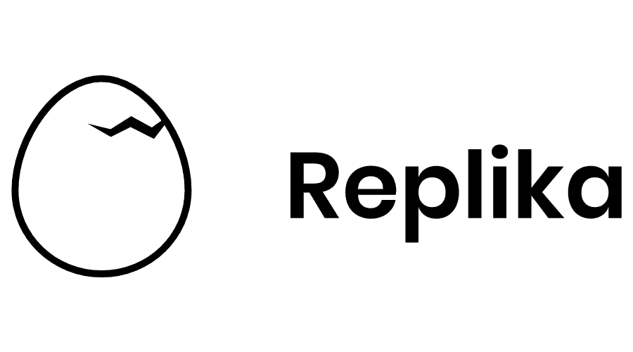 Replika Logo Vector