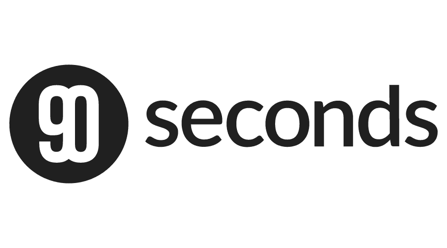 90 Seconds Logo Vector
