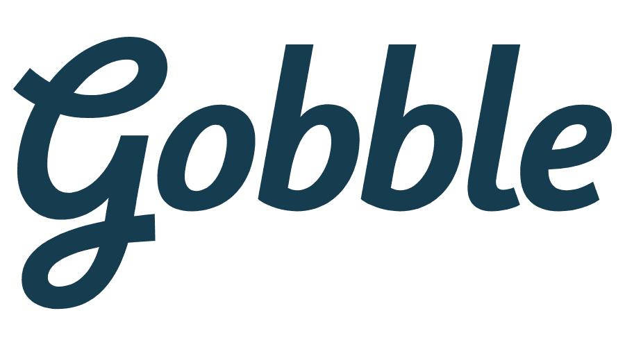 Gobble Logo Vector