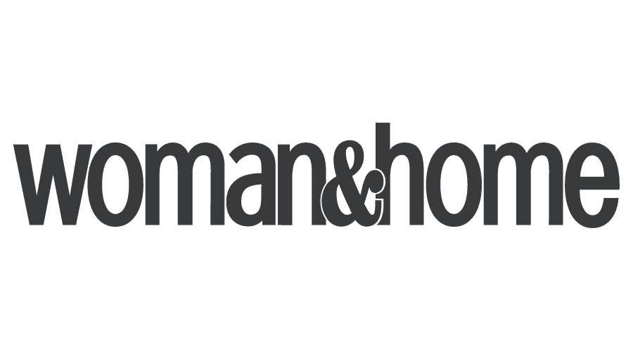 Woman and Home Logo Vector