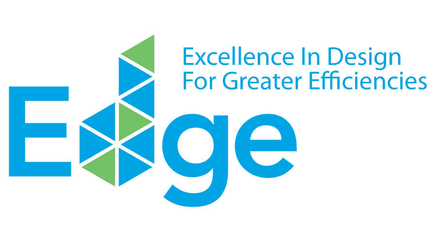 Excellence in Design for Greater Efficiencies (EDGE) Logo Vector