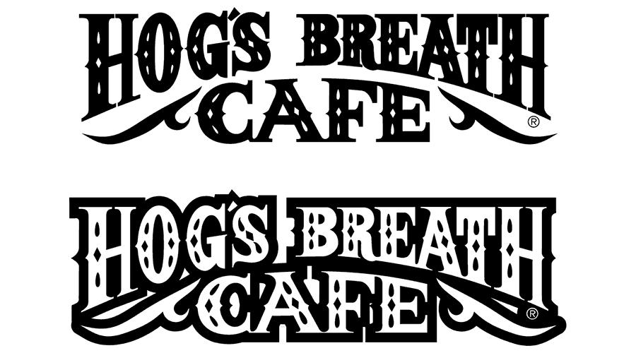 Hog's Breath Cafe Logo Vector