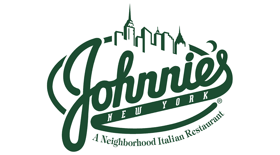 Johnnies New York Pizzeria Logo Vector