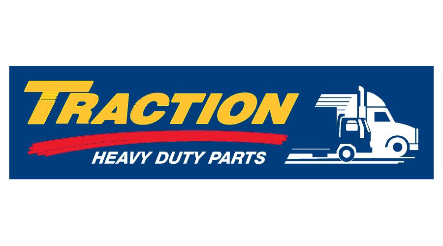 Traction Heavy Duty Parts Logo Vector