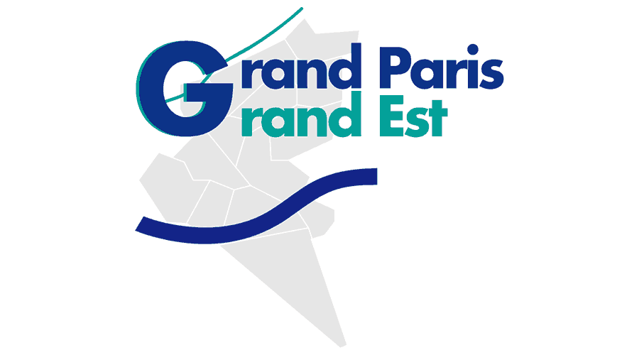 Grand Paris Grand Est Logo Vector
