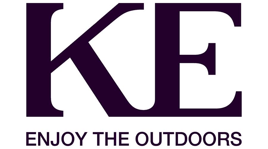 KE Outdoor Design Logo Vector