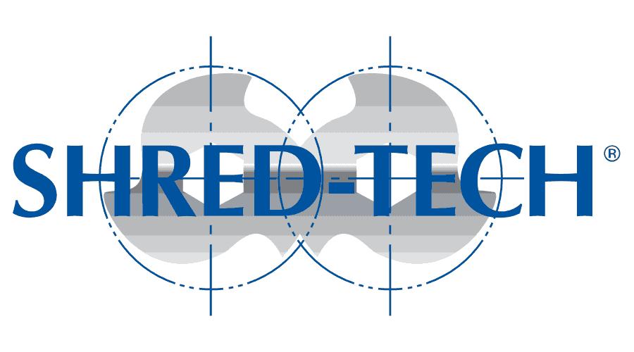 Shred-Tech Logo Vector