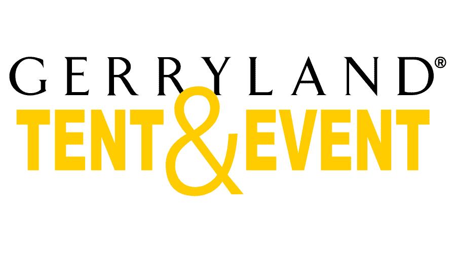 Gerryland Tent and Event Logo Vector