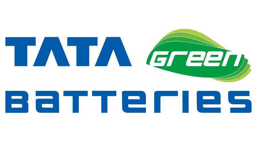 Tata Green Batteries Logo Vector
